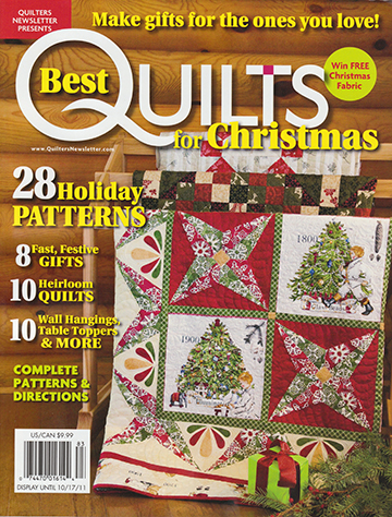 Best Quilts for Christmas 2011