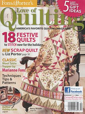 Love of Quilting NovDec 2011