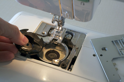 Cleaning Sewing Machine 1