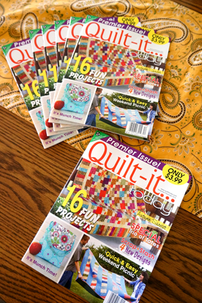 Quilt-it… today cover