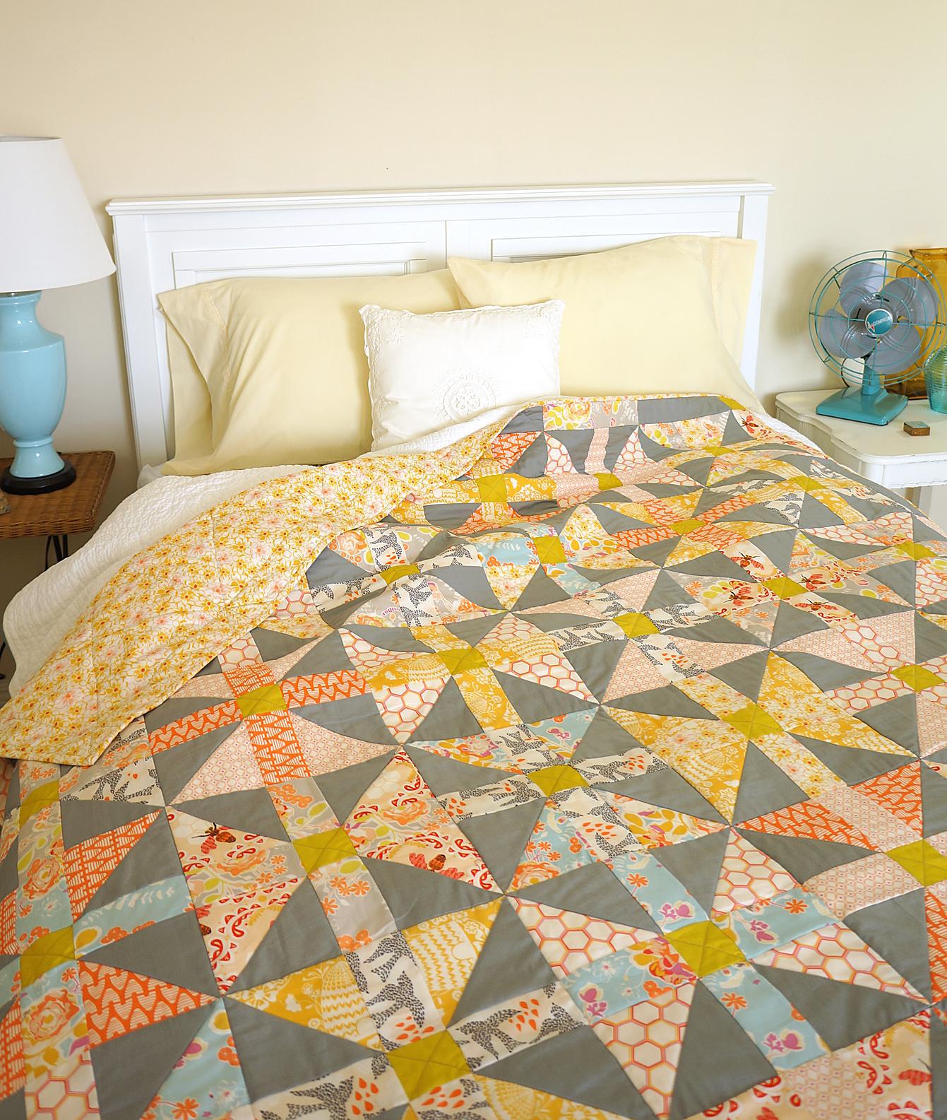Honeybee Cottage quilt by Sharon Holland Designs