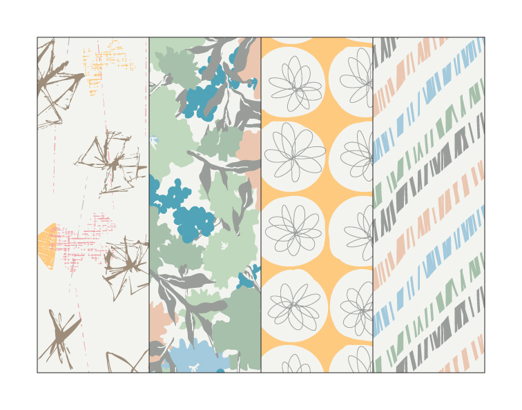 Sneak peek at my new fabric collection called   Gossamer   for Art Gallery Fabrics!