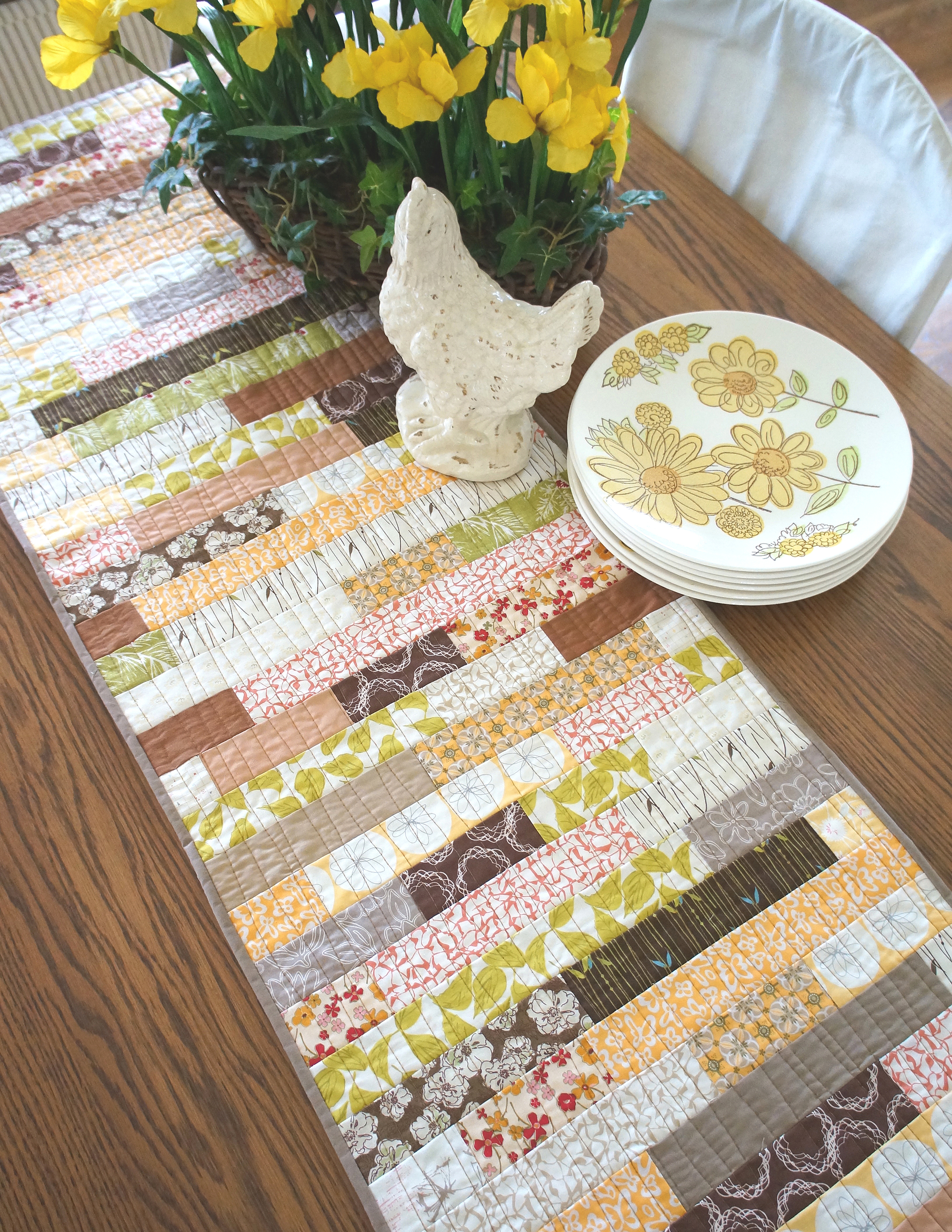 Stacked Strips by Sharon Holland