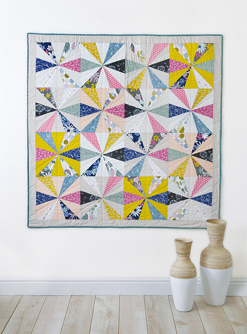Calliope by Sharon Holland made with Sketchbook fabrics
