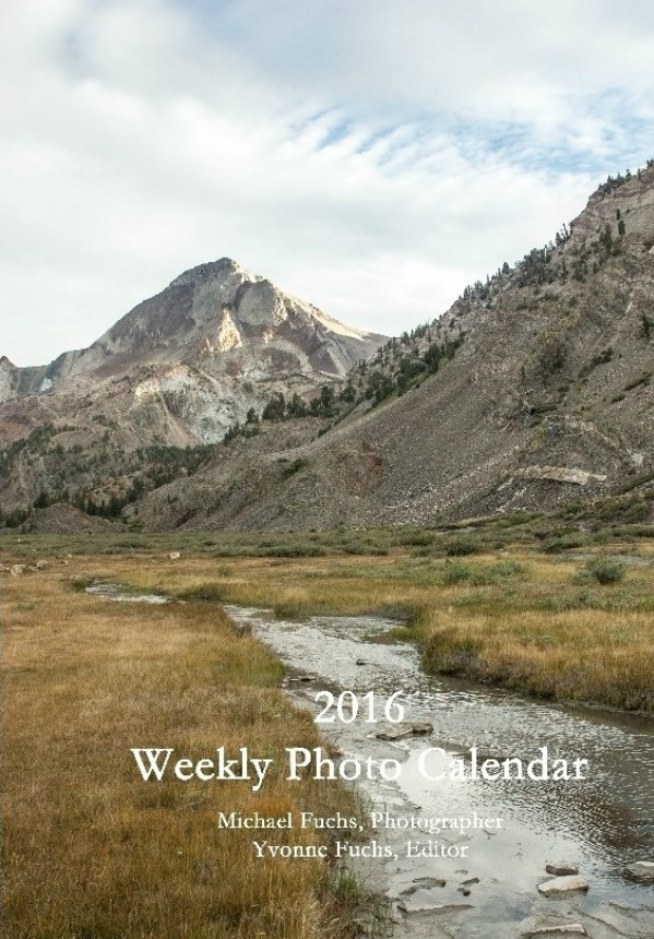 2016 Weekly Photo Calendar by Yvonne Fuchs at Quilting Jet Girl