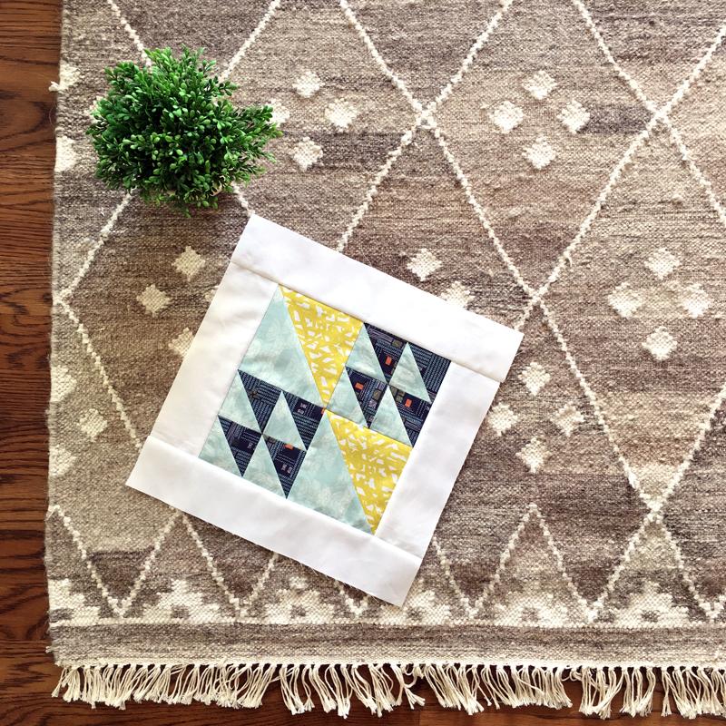 #3 Flock Sewcial Bee Sampler featuring Bountiful fabrics by Sharon Holland for Art Gallery Fabrics