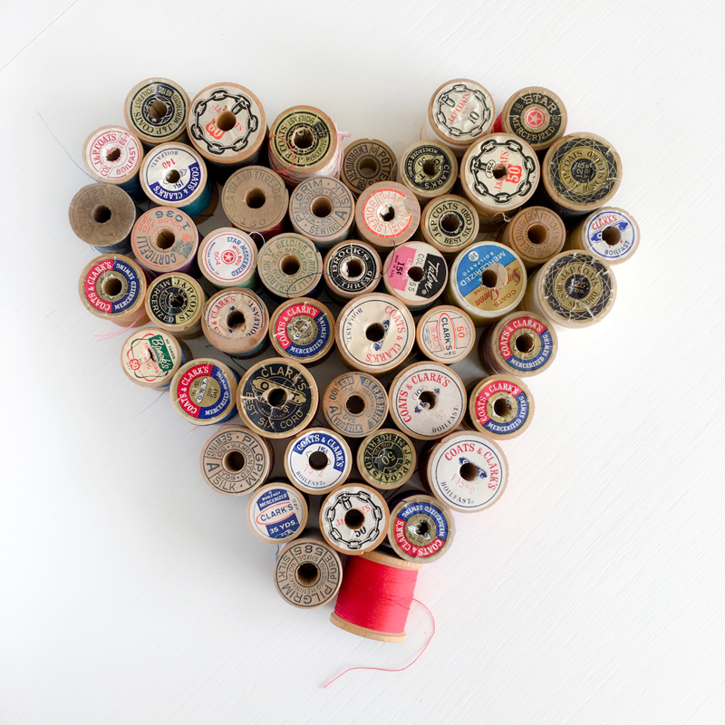 P.S. I love you sew! Photo by Sharon Holland