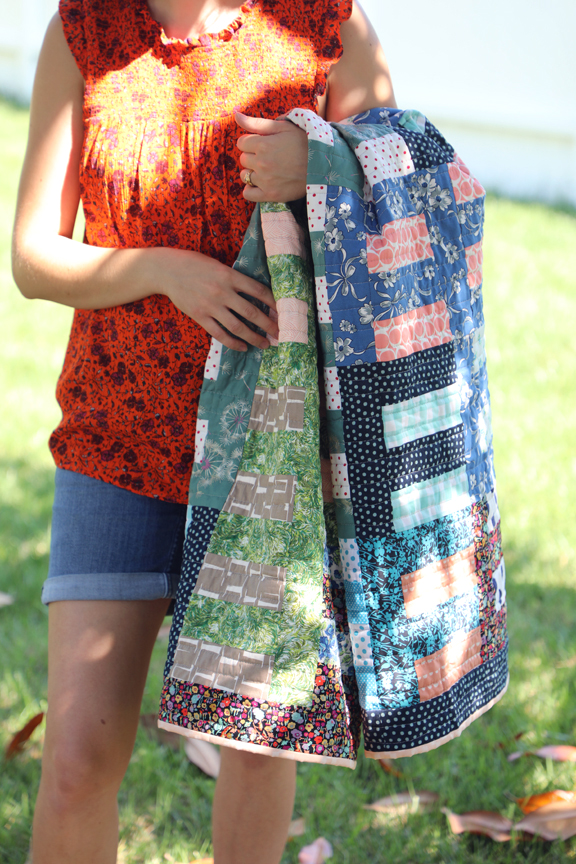 Roman Stripe by Sharon Holland - Utility-Style Quilts for Everyday Living