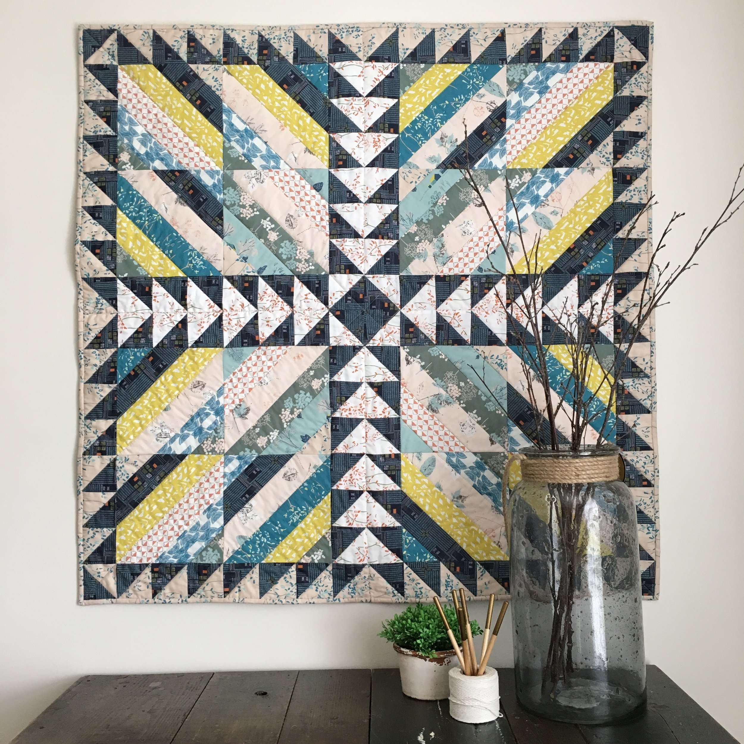Photo and quilt by Sharon Holland