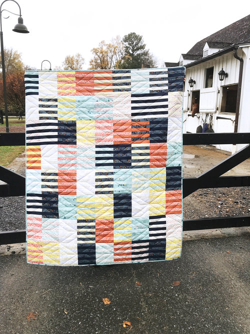 Weave quilt and photo by Silvia Sutter / A Stranger View