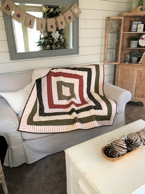 Photo and quilt by Amber Johnson of Gigi's Thimble