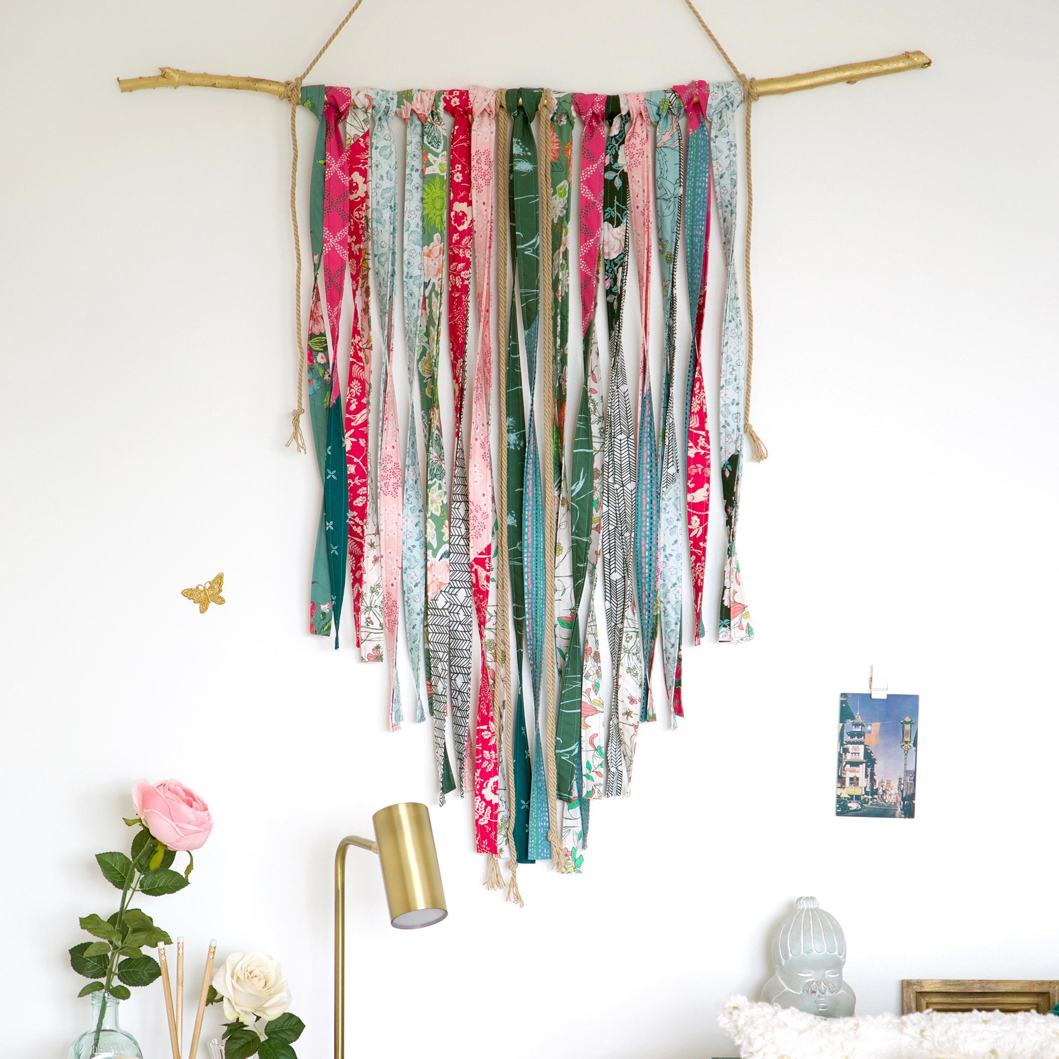 Fabric Fringe Wallhanging