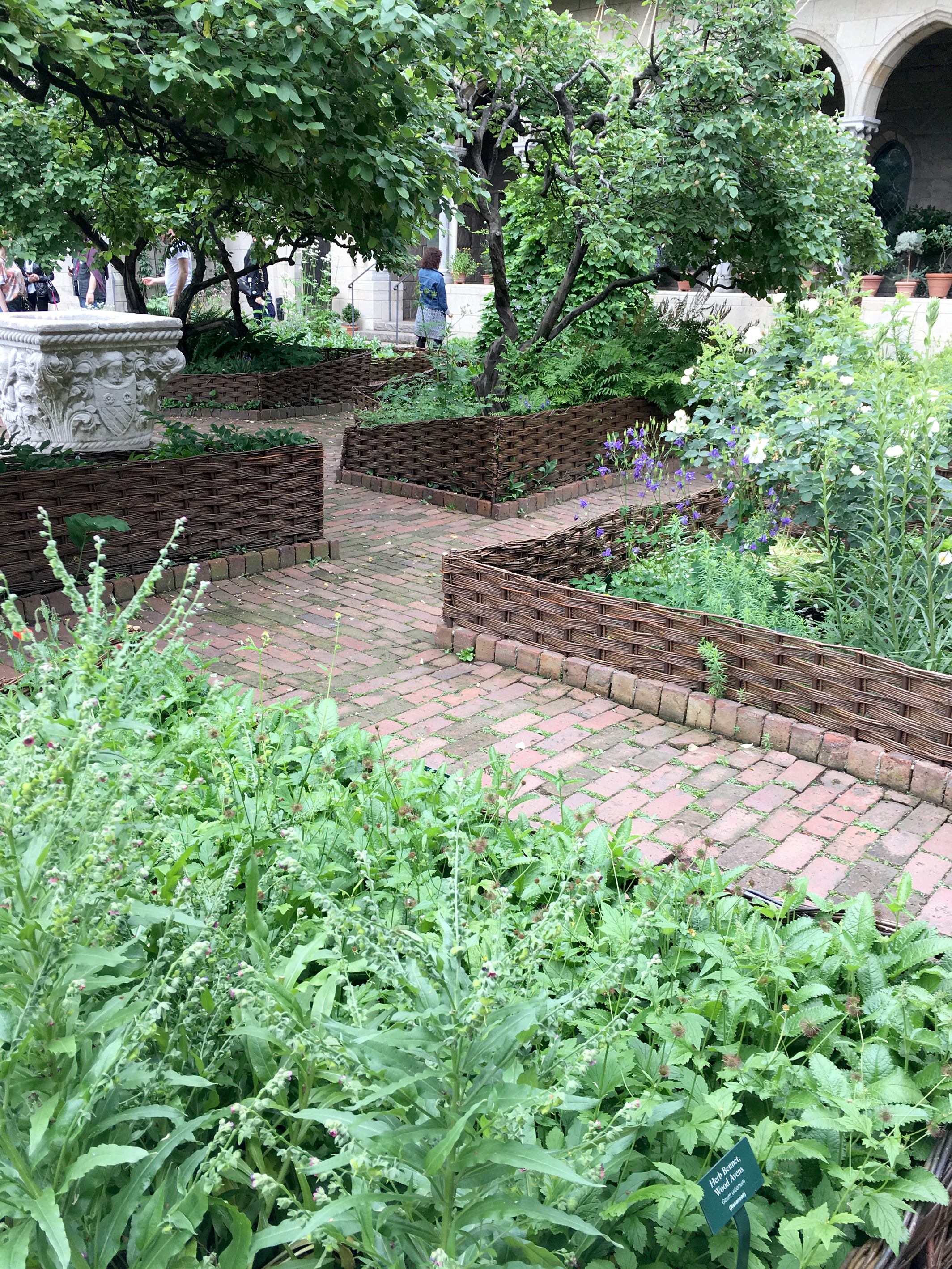 The Bonnefont Cloister Herb Garden