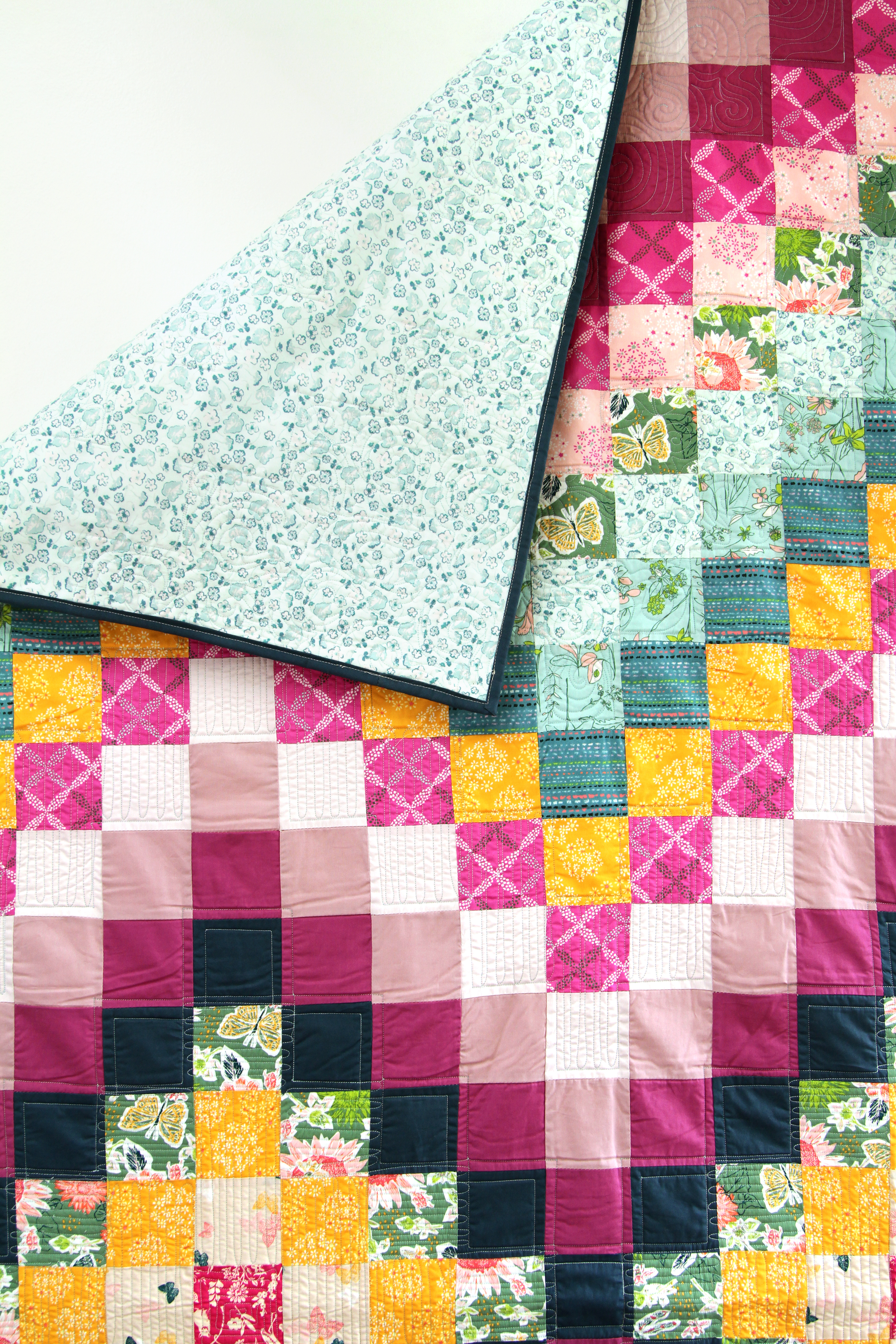 Spontaneous quilt designed by AGF Studio (free pattern)!