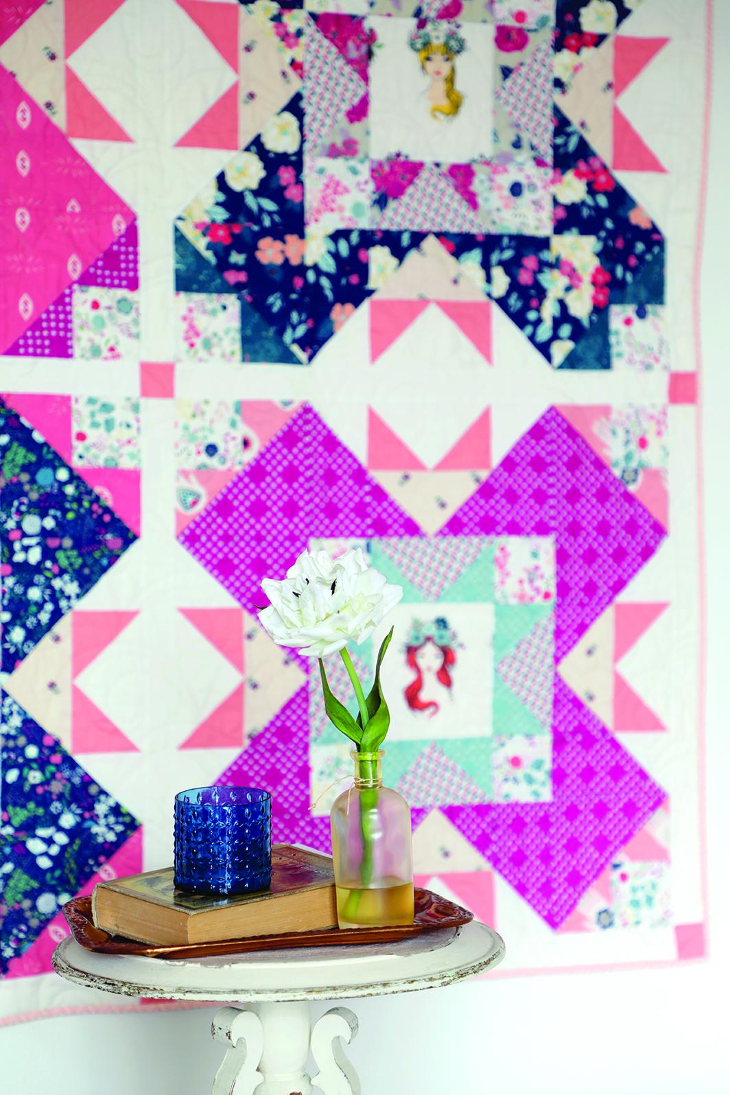 Castle Garden Quilt wall.jpg