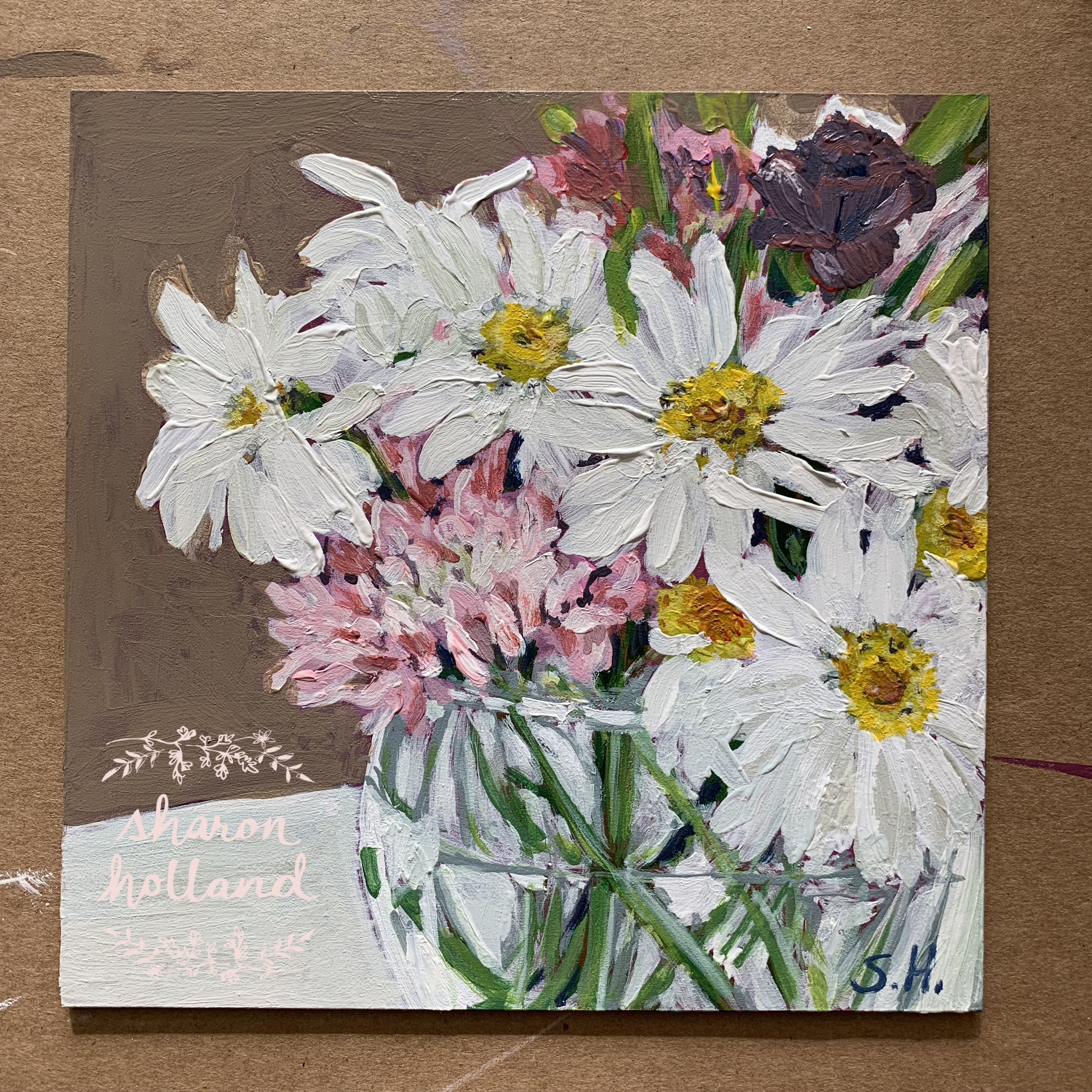 Daisies by Sharon Holland