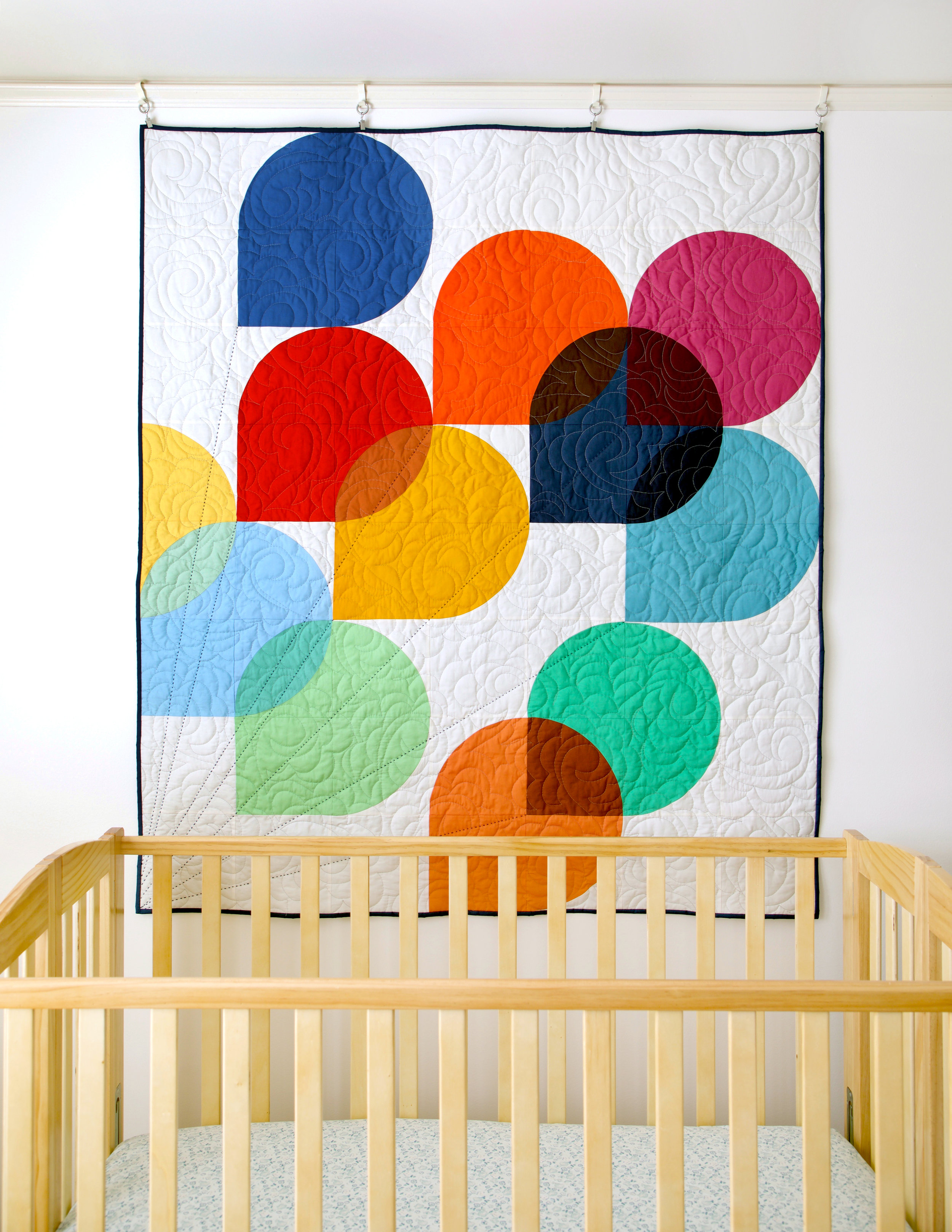 Hold Tight Baby Quilt by Sharon Holland Designs