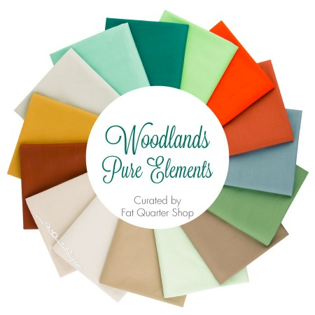 Fat Quarter Shop - Woodlands Pure Elements Fat Quarter Bundle