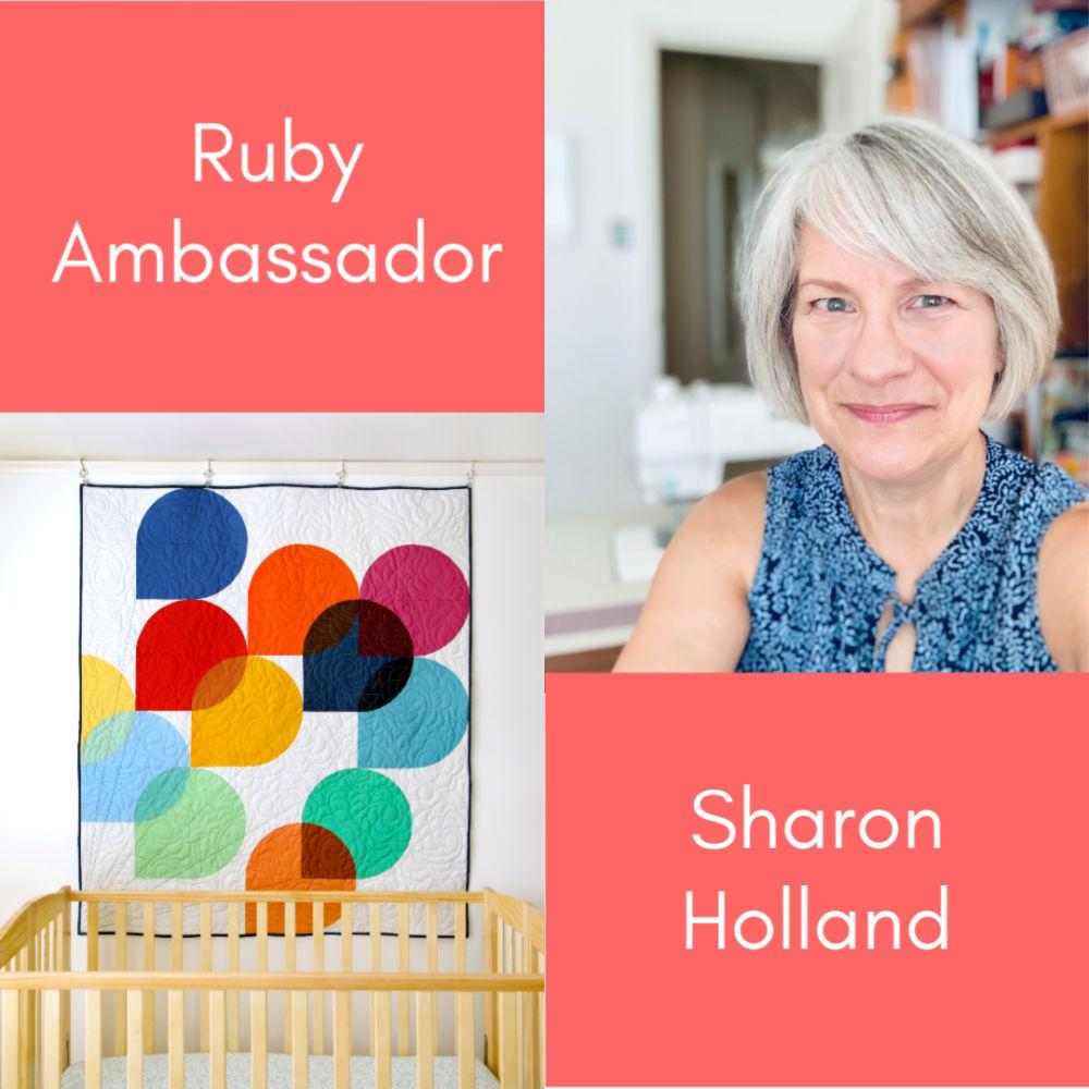 August Ruby Ambassador - Sharon Holland