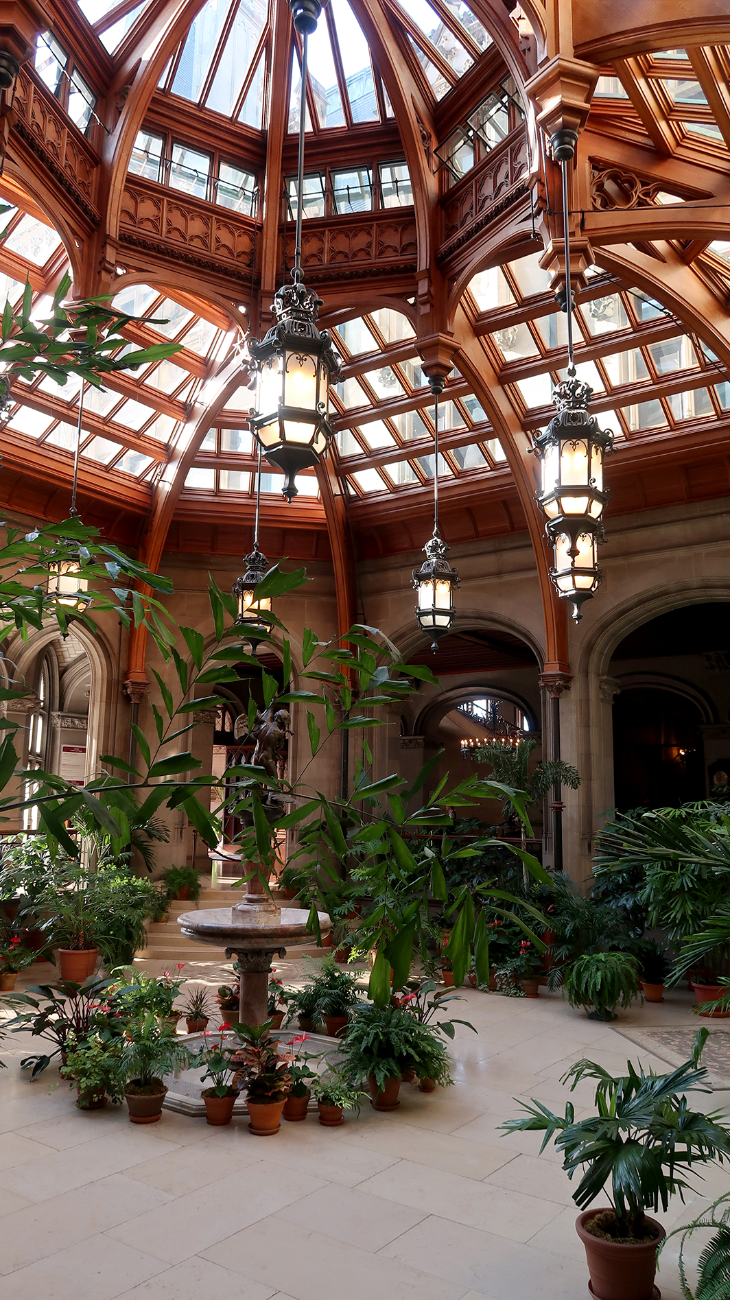 Winter Garden inside Biltmore Estates