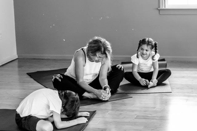 I have been teaching children's yoga classes for over 30 years. My own daughters started when they started moving around. Now they are both trained yoga teachers. I am always excited to work with a new group of possible of future yoga teachers. Classes will be held at my home studio  $70