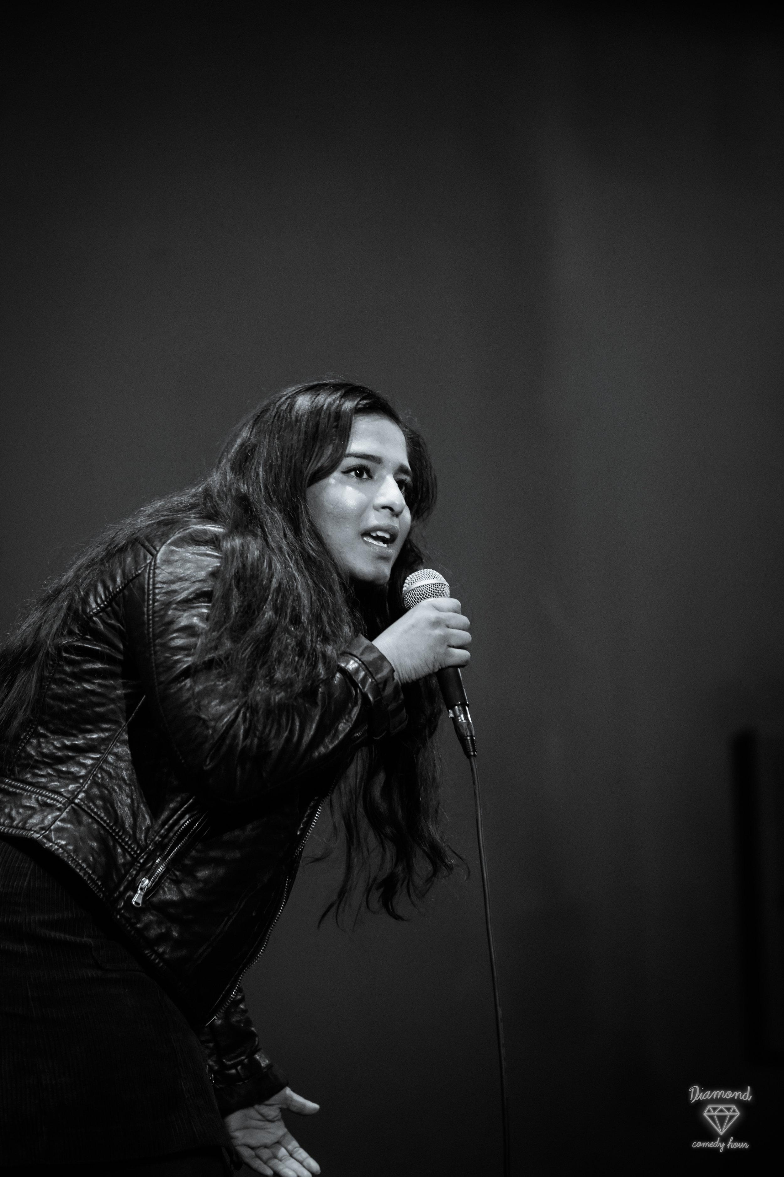 Meg indurti - comedian ; writer