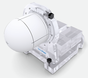 StereoPHAN™   is an end-to-end Stereotactic QA testing including MRI & CT imaging, treatment planning such as image fusion QA, and delivery of treatment. Use to evaluate geometric accuracy such as optical/geometric isocentre, table indexing and CBCT to MV/kV alignment, plus absolute, point dose and film relative dose measurements.Requires no tools! Measure any plane - compatible with GammaKnife, BrainLab and Fraction head-frames.  Interchangeable inserts: film, ion chamber, CT/MRI (all 3 soon available for CyberKnife); MRI Signal generator & universal spacer.