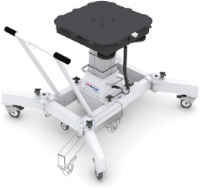 3D MiniLift™     for use with 3D Scanner  clears Linac couch ring and X, Y, Z motors support 3D Scanner and AutoSetup functionality. Measurement, transport and storage configurations.