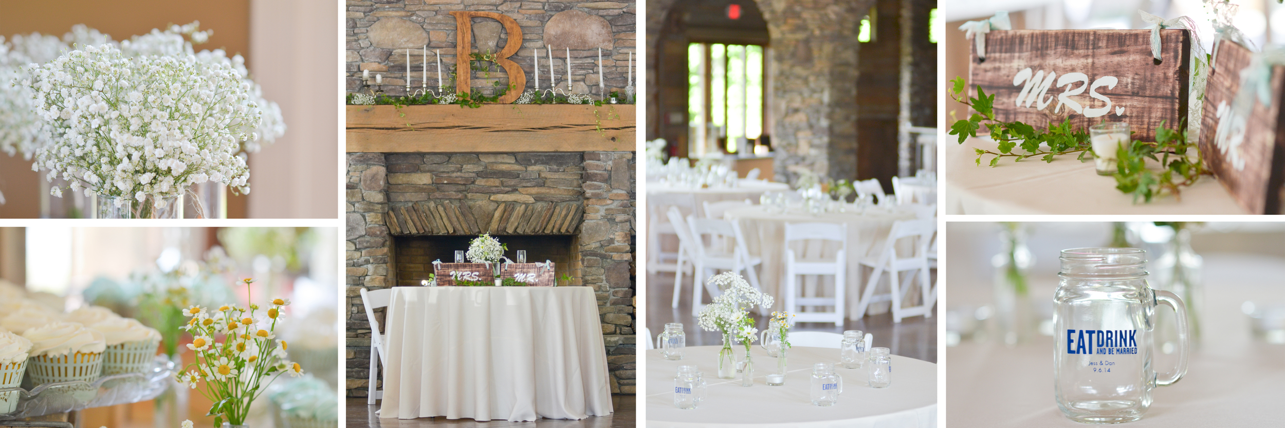 Everything about this wedding was perfect, from all of the DIY details to the oh so in love couple.
