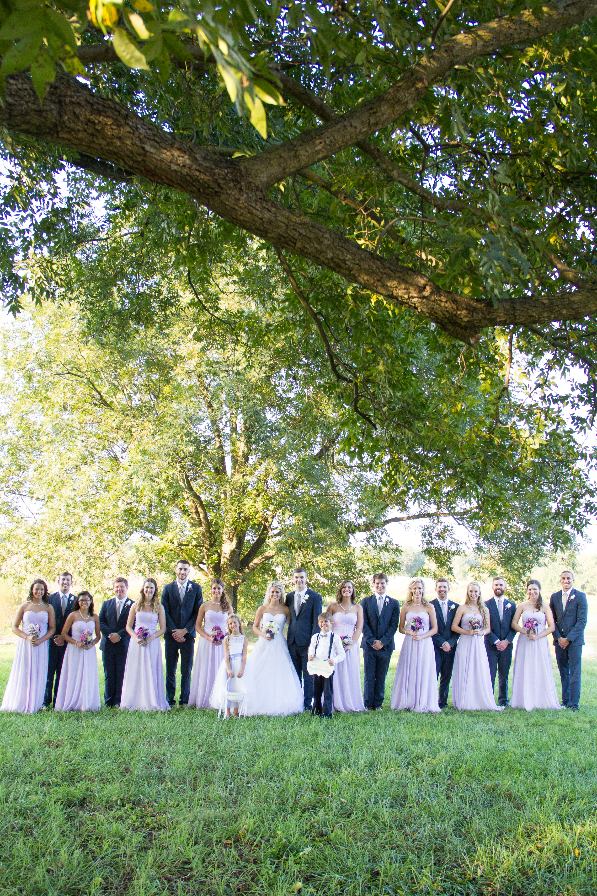 Not only are Morgan & Jeremy so cute, their entire wedding party is!