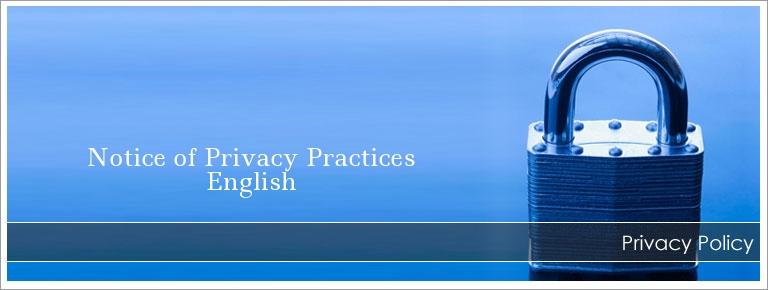 Please click the icon above to view our Privacy Practices
