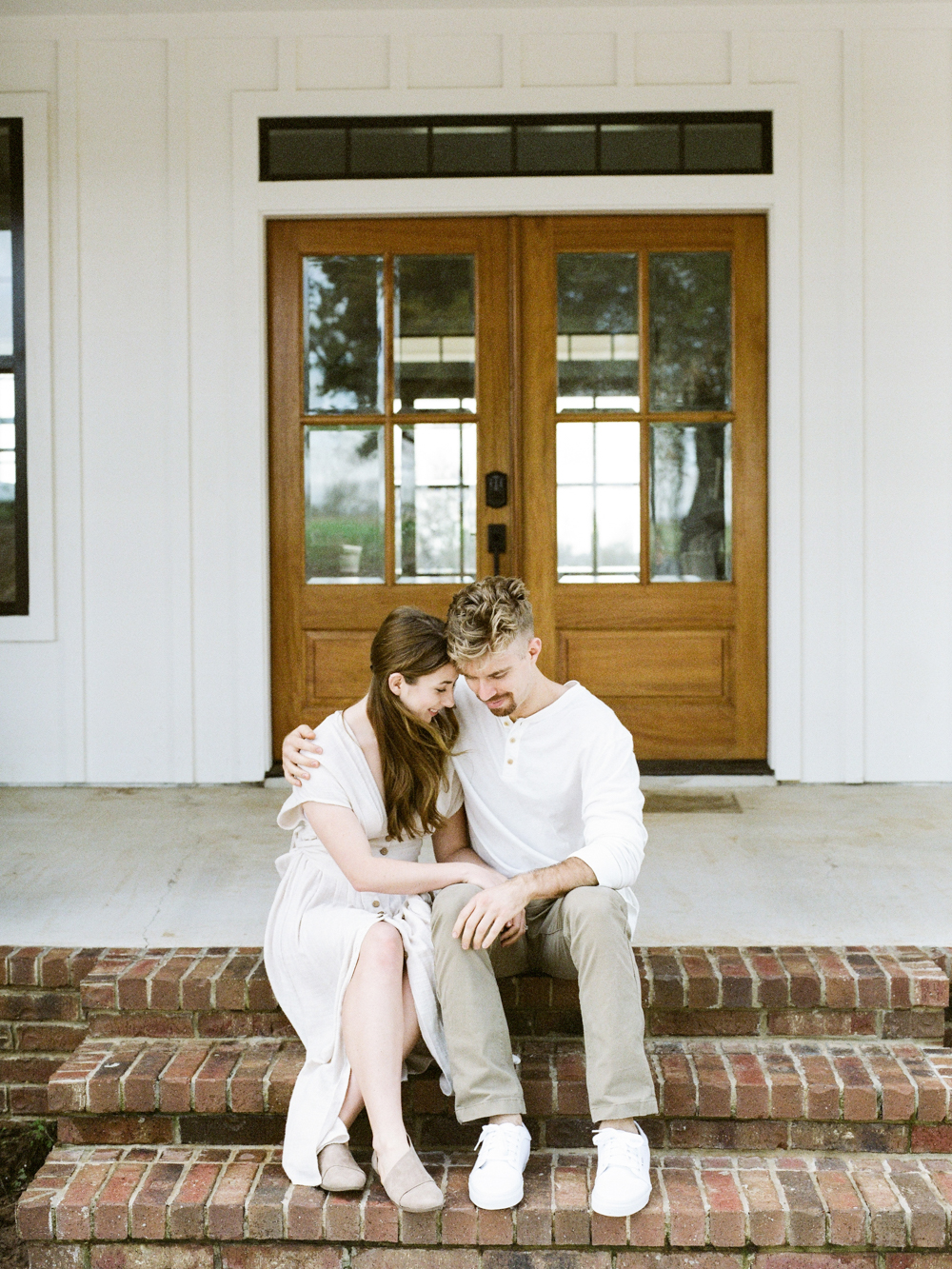 at home engagement session - Christine Gosch - featured on Magnolia Rouge - film photographer - elopement and intimate wedding photographer-21.jpg