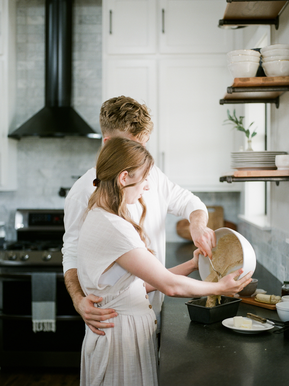 at home engagement session - Christine Gosch - featured on Magnolia Rouge - film photographer - elopement and intimate wedding photographer-11.jpg