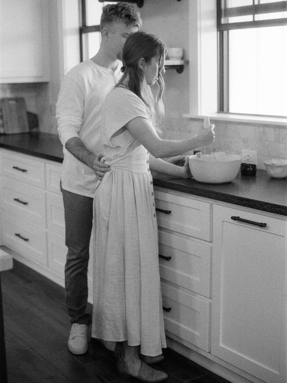 at home engagement session - Christine Gosch - featured on Magnolia Rouge - film photographer - elopement and intimate wedding photographer-4.jpg