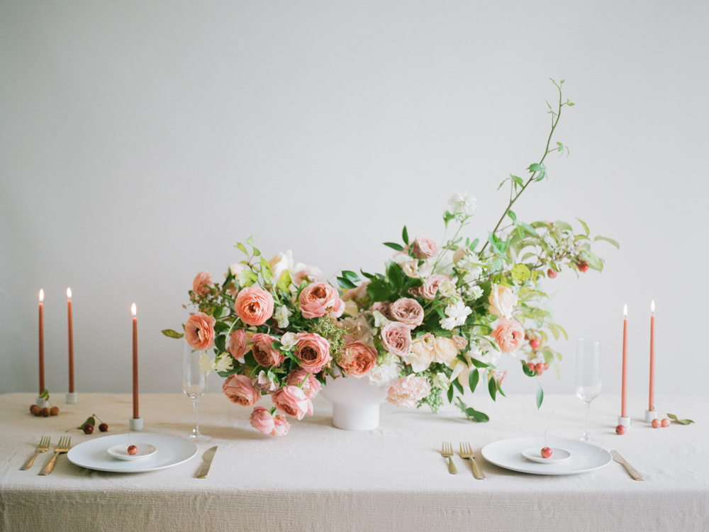 film wedding photographer - Houston wedding photographer - intimate wedding photographer - Christine Gosch - fall wedding inspiration - blush fall wedding - wedding flowers - fall wedding flowers - minimal wedding table inspo - Maxit Flower Design-1.jpg