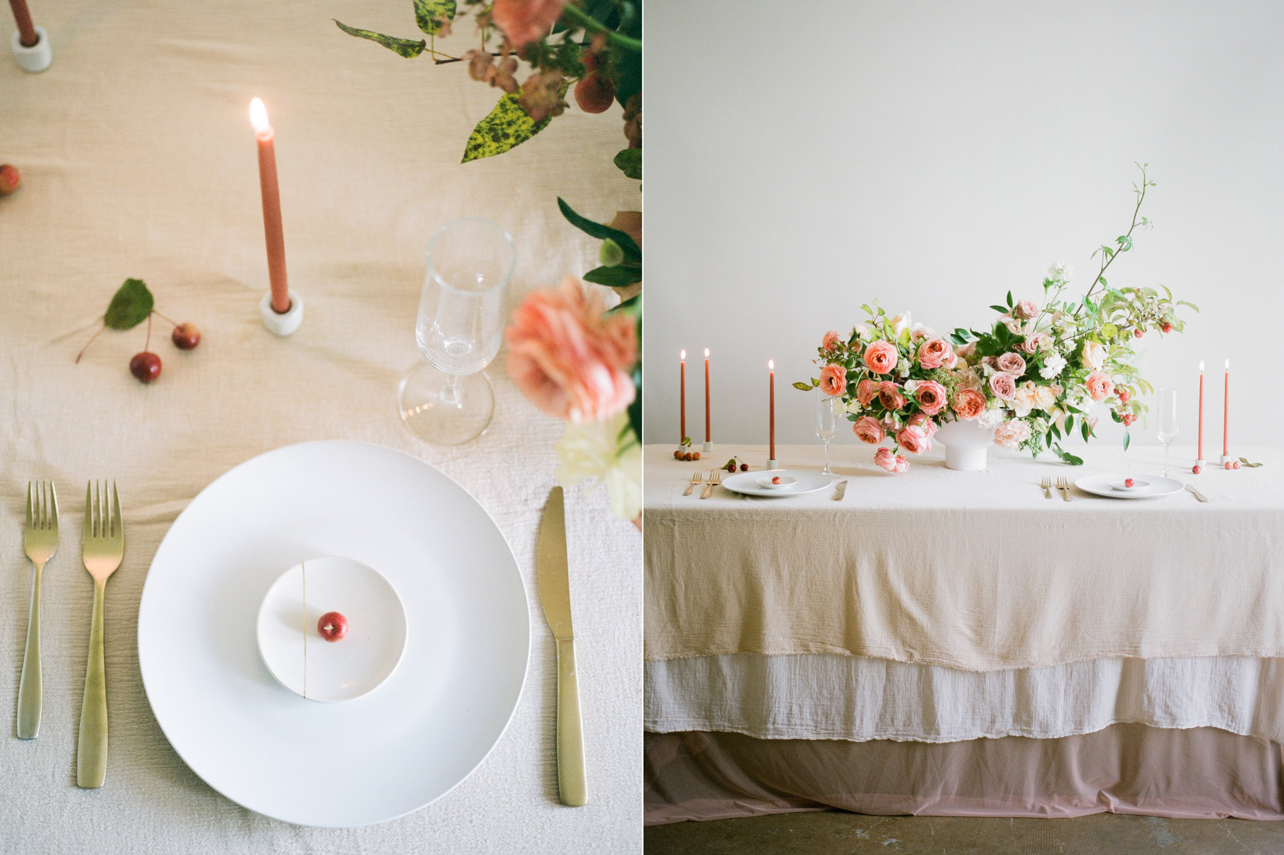 film wedding photographer - Houston wedding photographer - intimate wedding photographer - Christine Gosch - fall wedding inspiration - blush fall wedding - wedding flowers - fall wedding flowers - minimal wedding table inspo - Maxit Flower Design-6.jpg