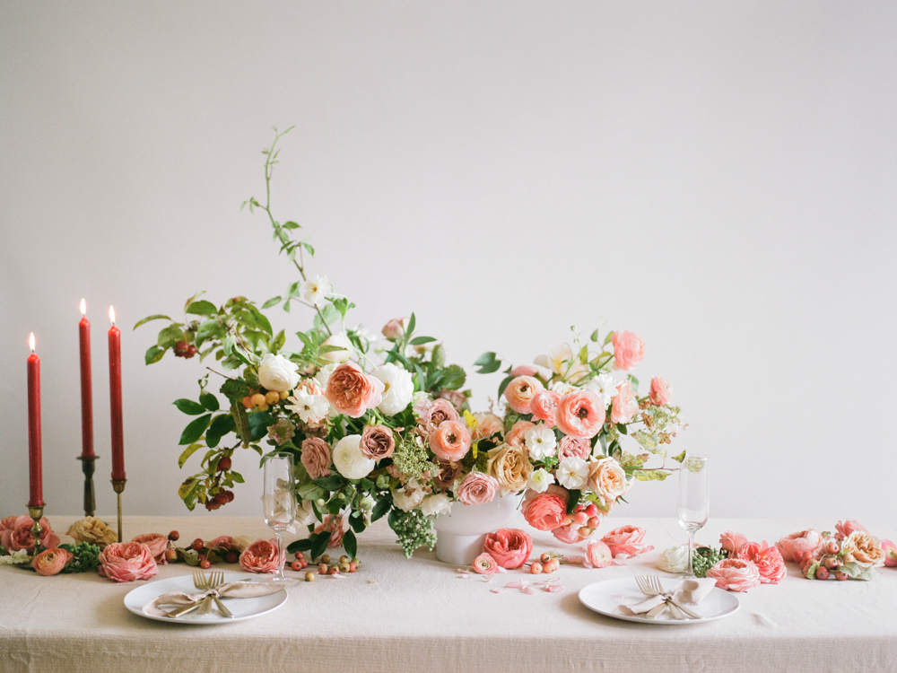 film wedding photographer - Houston wedding photographer - intimate wedding photographer - Christine Gosch - fall wedding inspiration - blush fall wedding - wedding flowers - fall wedding flowers - wedding table inspo-1- Maxit Flower Design.jpg