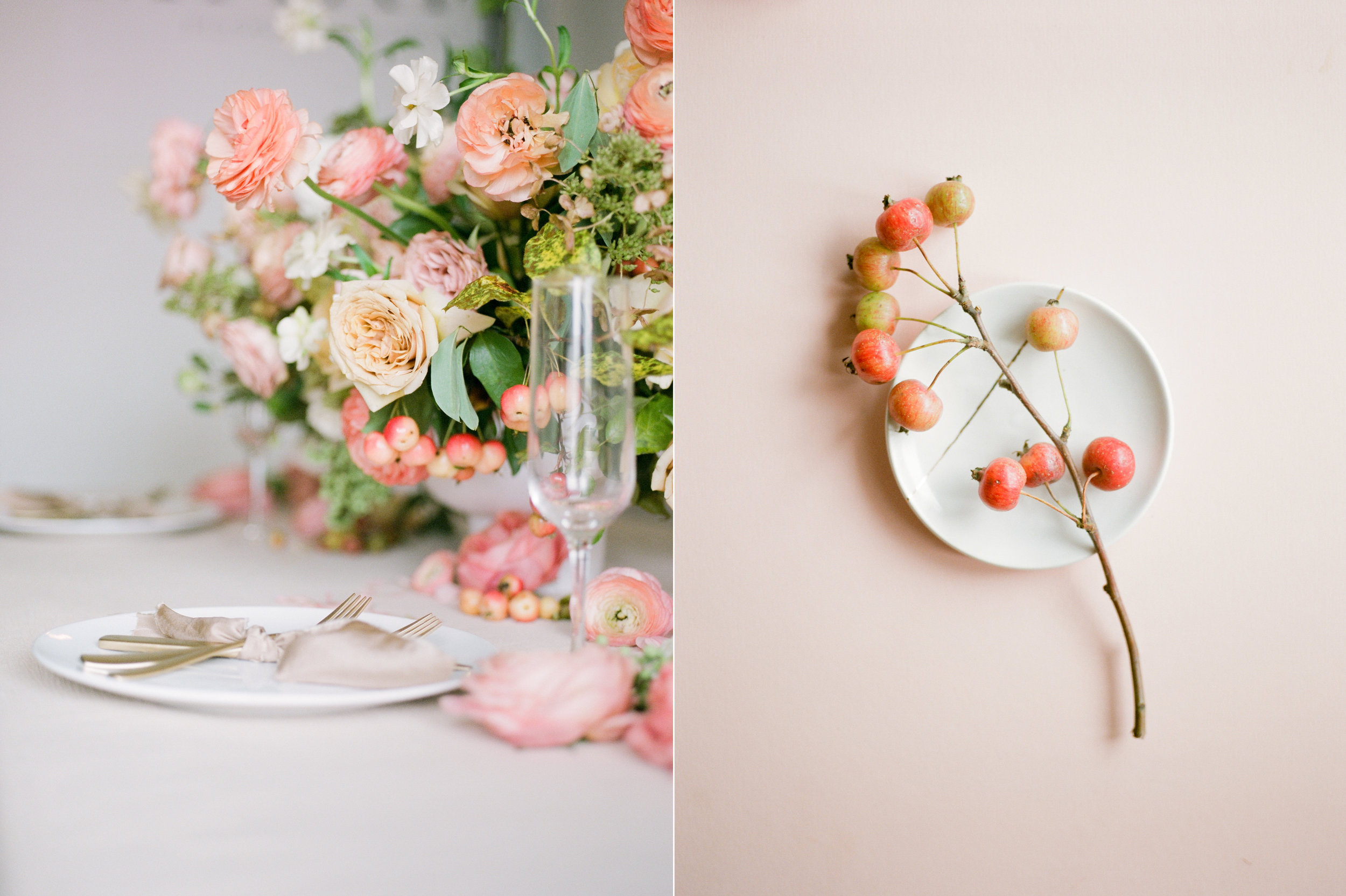film wedding photographer - Houston wedding photographer - intimate wedding photographer - Christine Gosch - fall wedding inspiration - blush fall wedding - wedding flowers - fall wedding flowers - wedding table inspo-6- Maxit Flower Design.jpg