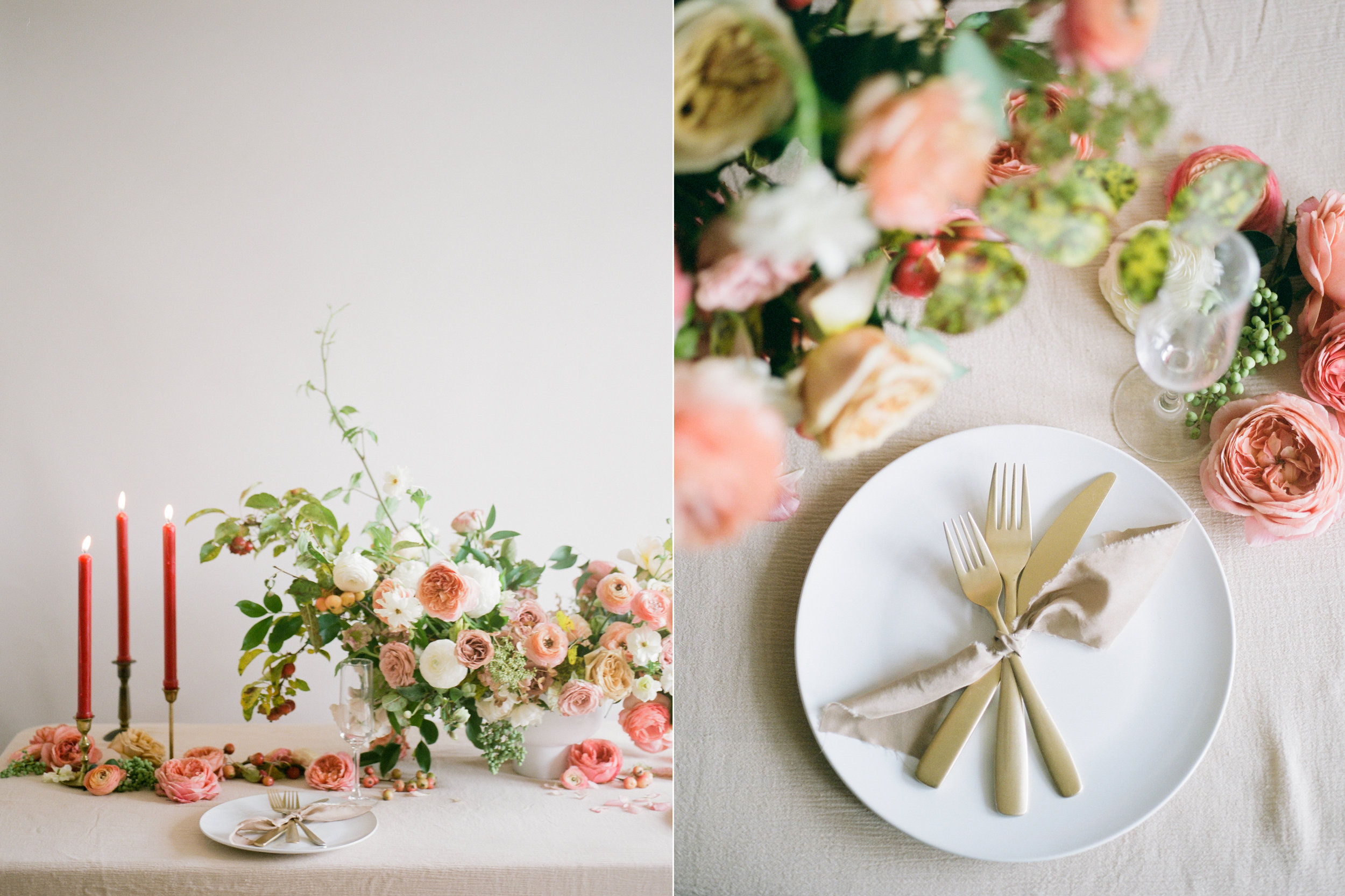 film wedding photographer - Houston wedding photographer - intimate wedding photographer - Christine Gosch - fall wedding inspiration - blush fall wedding - wedding flowers - fall wedding flowers - wedding table inspo-7- Maxit Flower Design.jpg