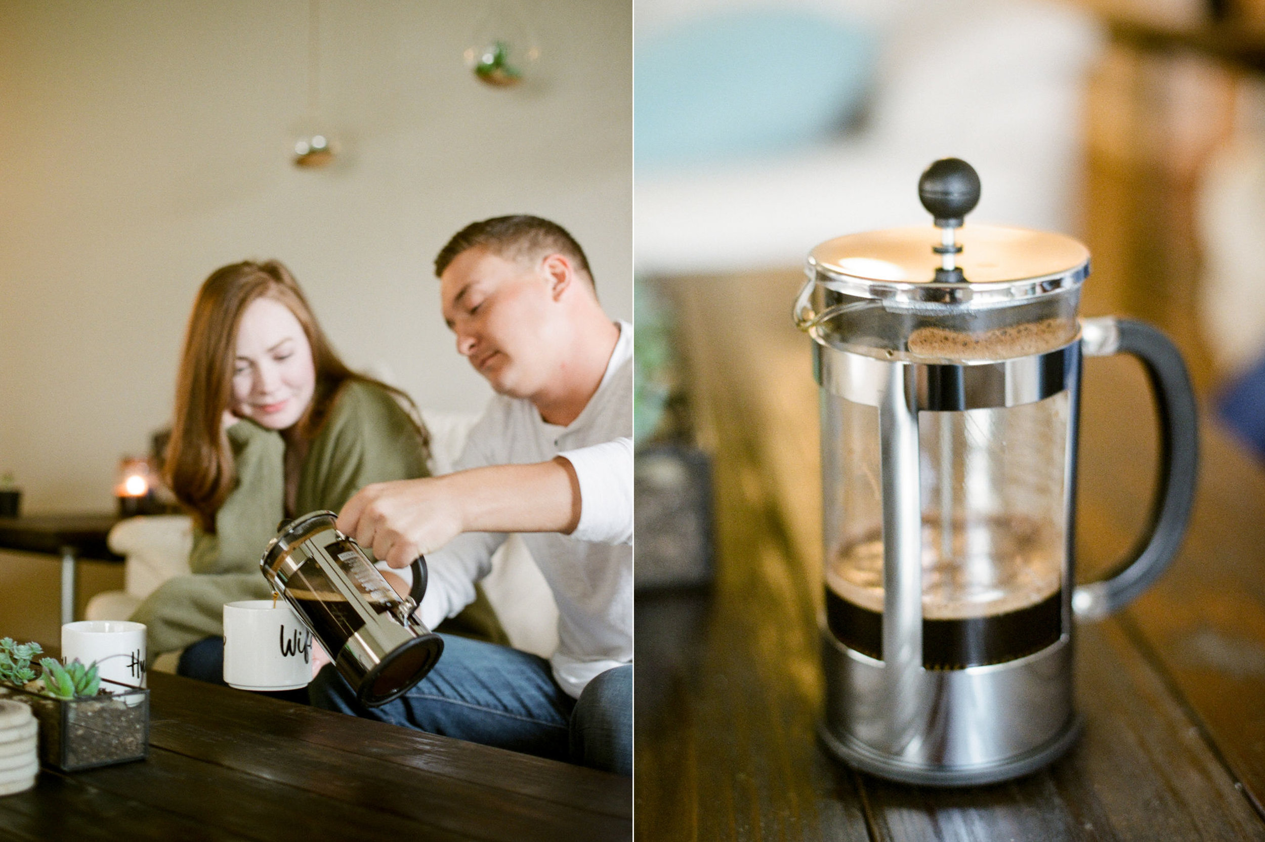 in home engagement session - film photographer - houston wedding photographer-13.jpg