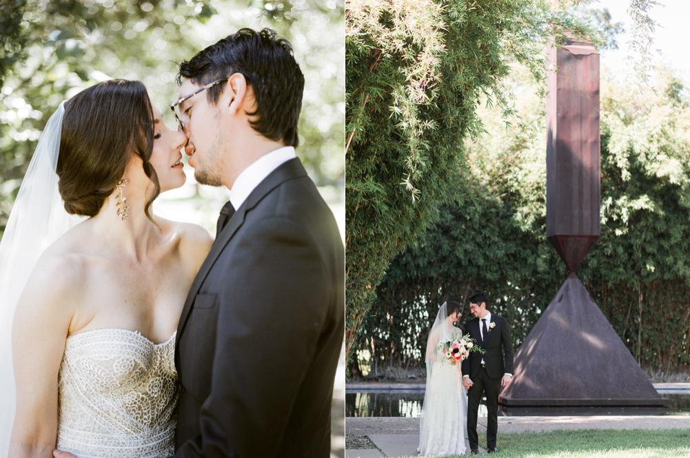 fall wedding at rothko chapel- houston wedding photographer-christine gosch - film photographer - elopement photographer- intimate wedding - lovely bride wedding gown-23.jpg