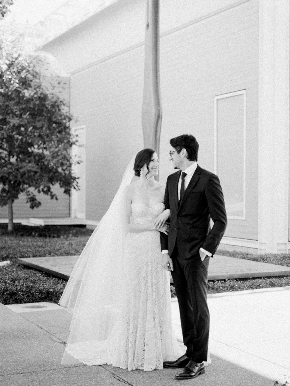 fall wedding at rothko chapel- houston wedding photographer-christine gosch - film photographer - elopement photographer- intimate wedding - lovely bride wedding gown-10.jpg