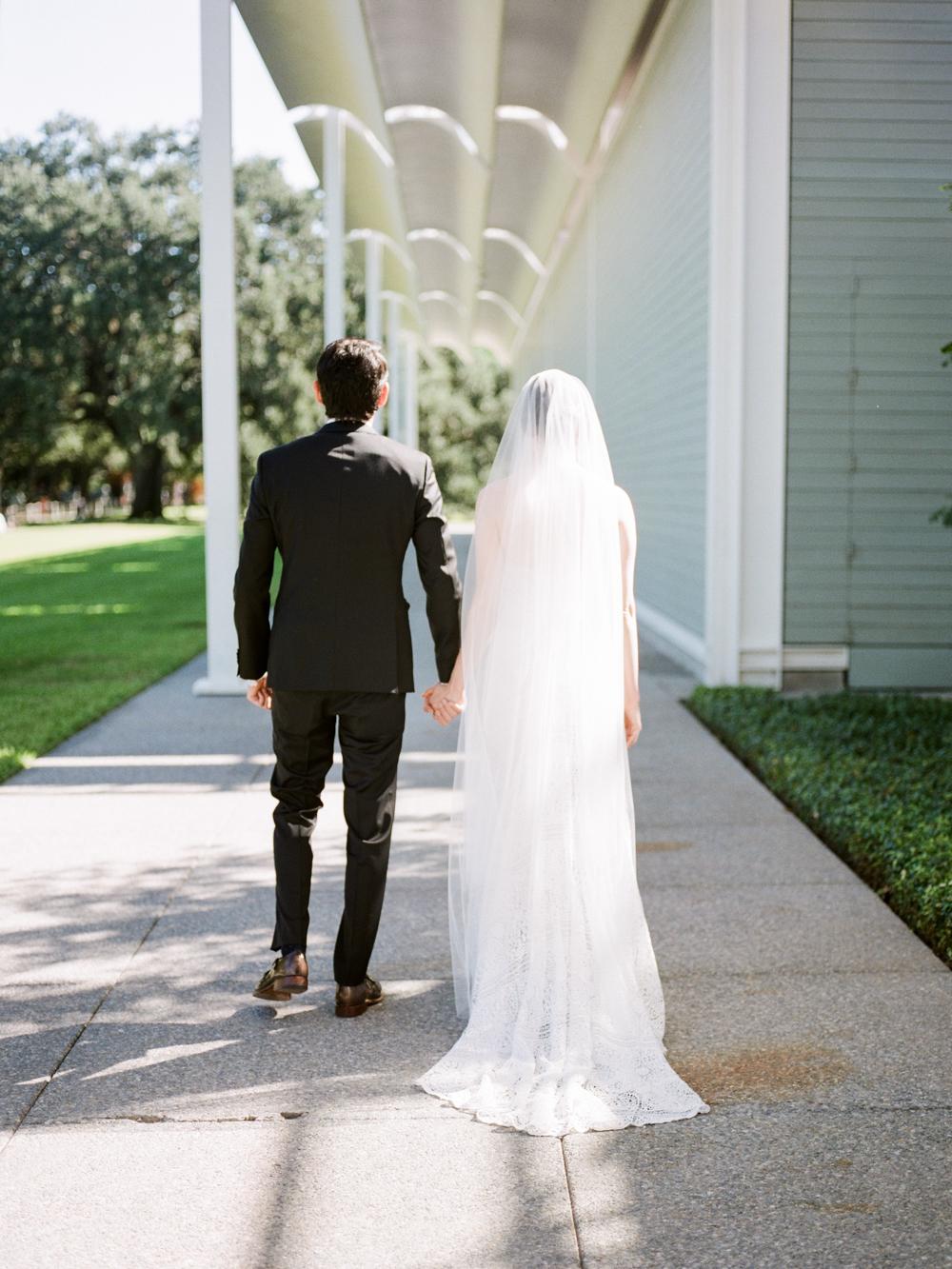 fall wedding at rothko chapel- houston wedding photographer-christine gosch - film photographer - elopement photographer- intimate wedding - lovely bride wedding gown-9.jpg