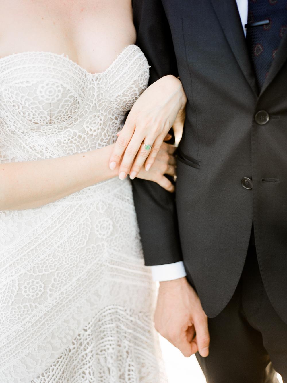 fall wedding at rothko chapel- houston wedding photographer-christine gosch - film photographer - elopement photographer- intimate wedding - lovely bride wedding gown-11.jpg