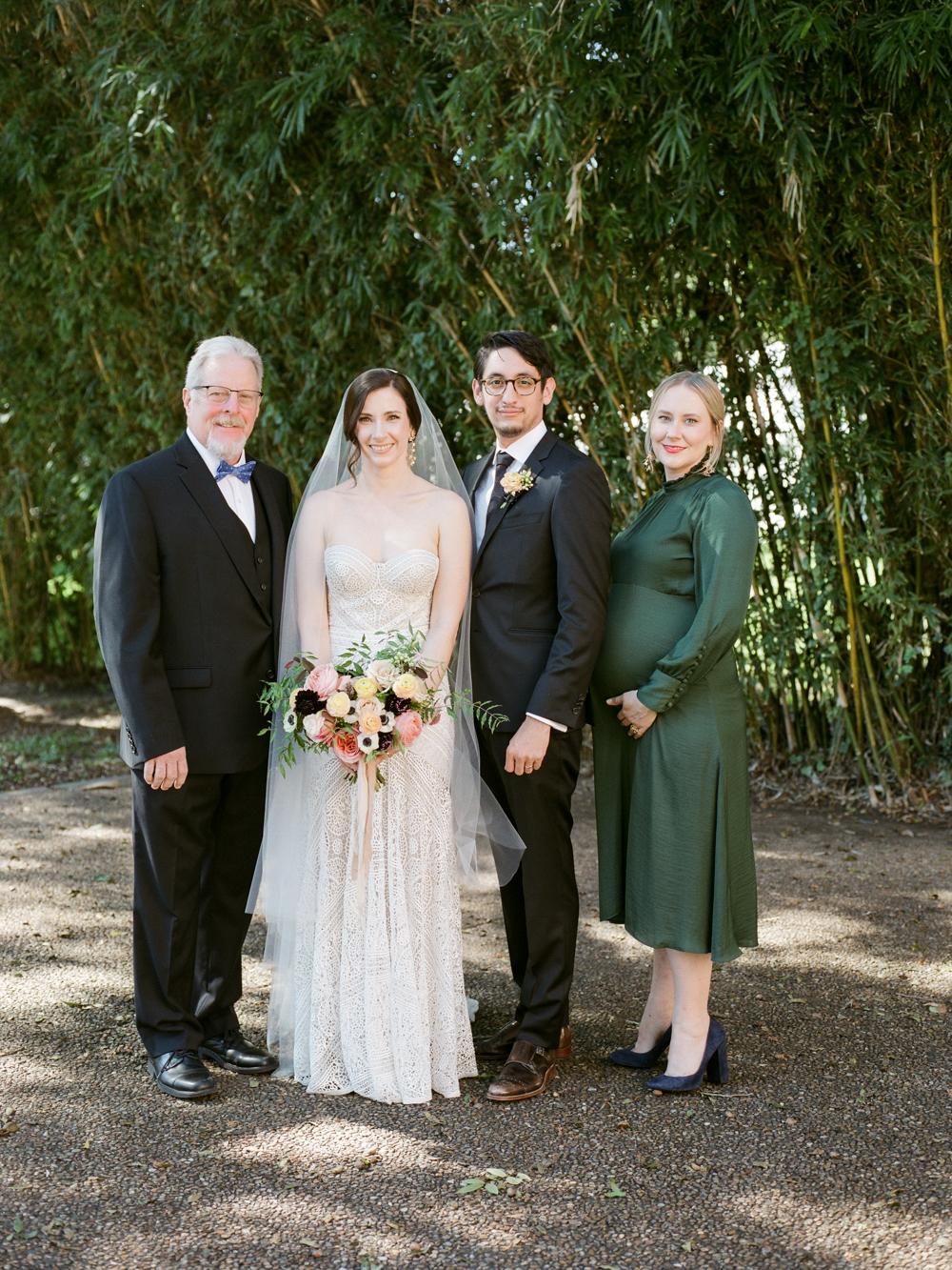 fall wedding at rothko chapel- houston wedding photographer-christine gosch - film photographer - elopement photographer- intimate wedding - lovely bride wedding gown-25.jpg