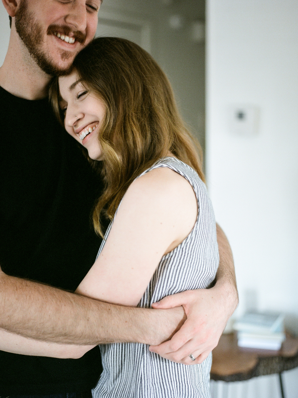 Christine Gosch- home engagement session- austin film photographer-  houston film photographer- in home session- engagment session- film wedding photographer-21.jpg