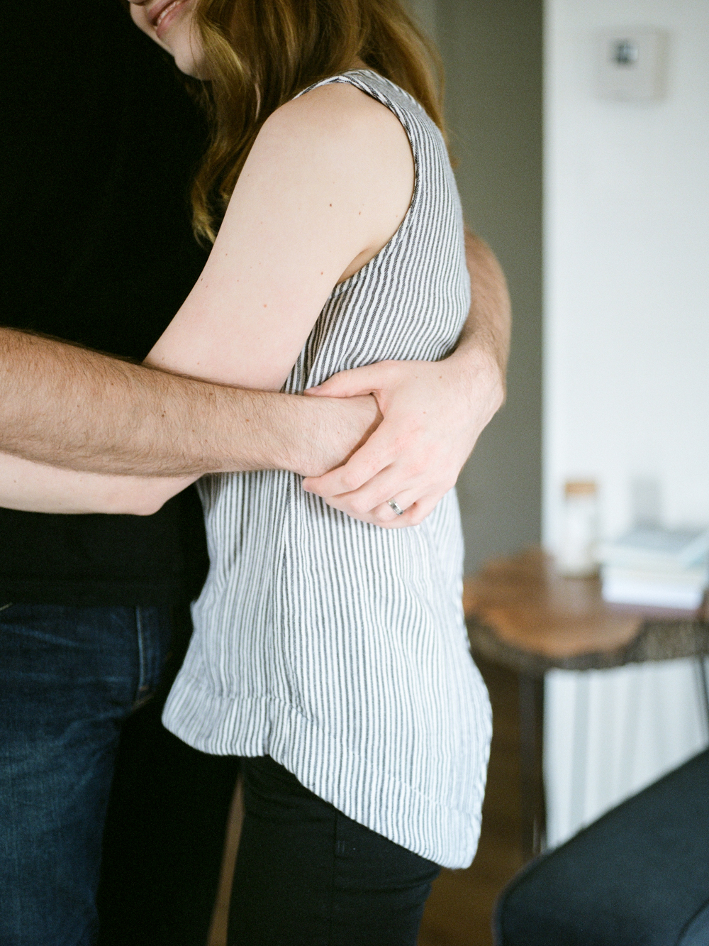 Christine Gosch- home engagement session- austin film photographer-  houston film photographer- in home session- engagment session- film wedding photographer-10.jpg