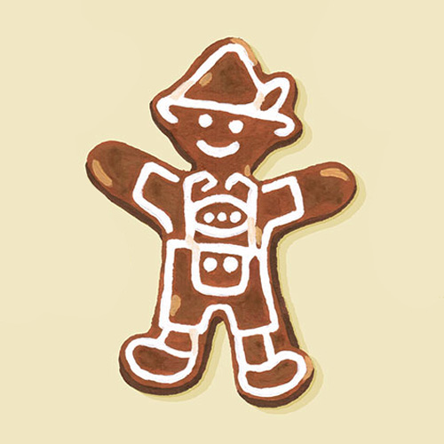 G is for Gingerbread Cookies