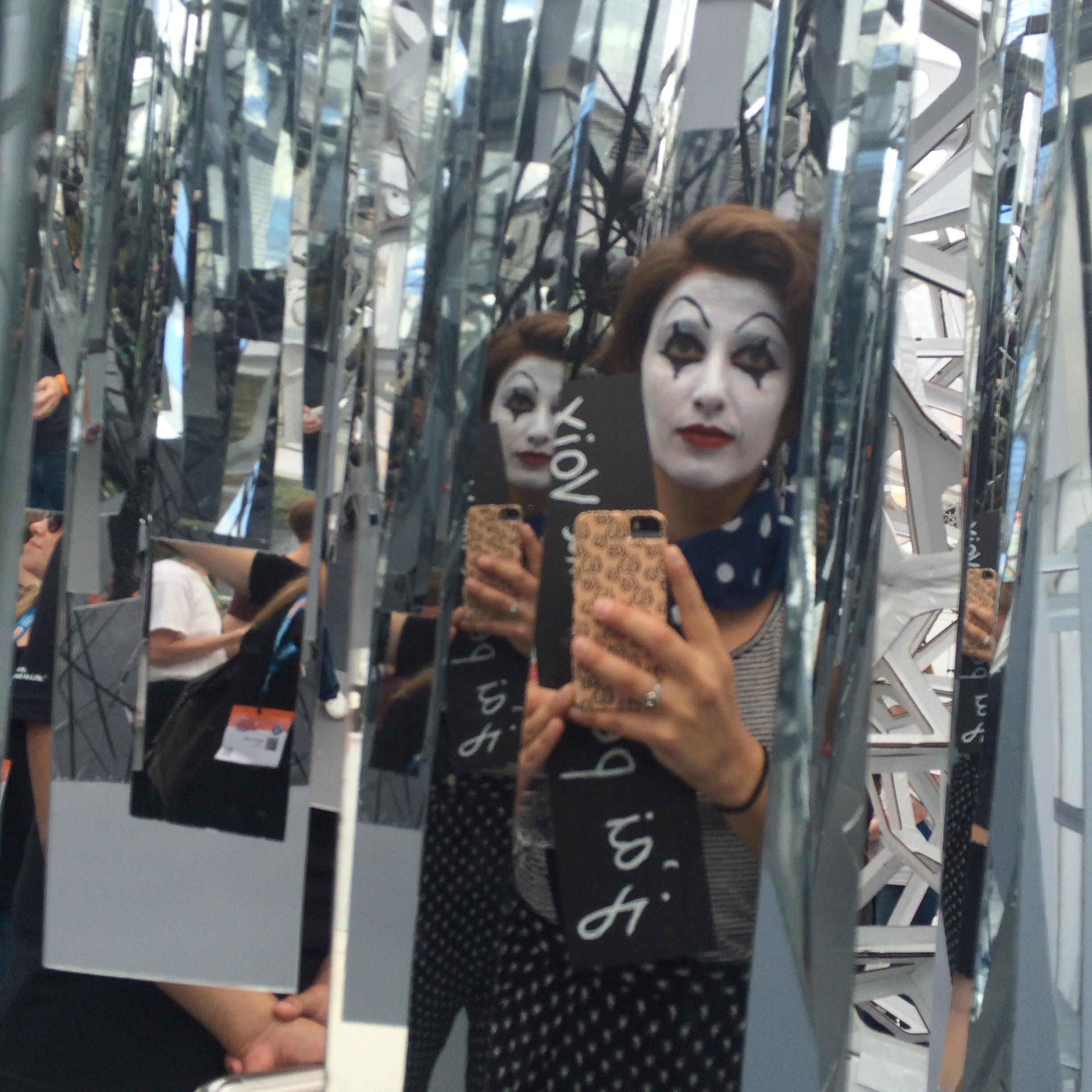 #SXSmime in scary hall of mirrors