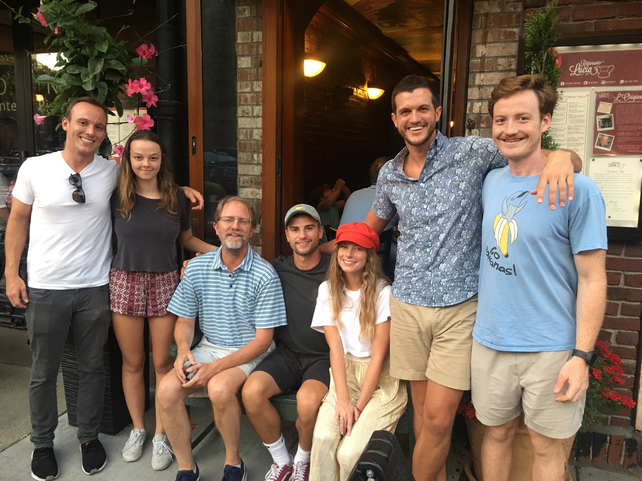 Wood Marchant and some of his students at the Association of Recovery in Higher Education Conference in Boston this Summer 2019